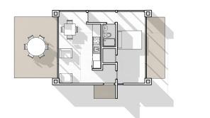 Planta Modelo Casa P1-42