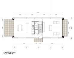 Planta Casa modelo P2-84