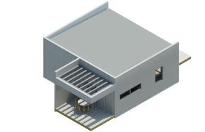 Modelo de casa modular Preforma Nro. 2 de 42mt2